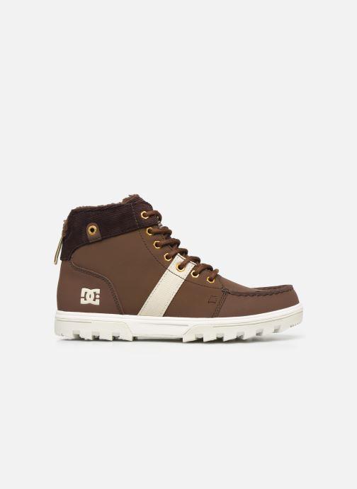 Chaussures à lacets DC Shoes Woodland Marron vue derrière