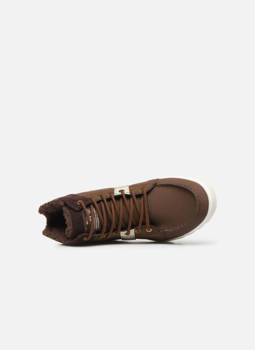 Lace-up shoes DC Shoes Woodland Brown view from the left