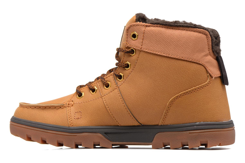 Chaussures à lacets DC Shoes Woodland Marron vue face
