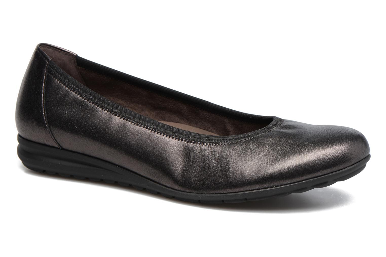 Ballerinaer Gabor Lena Grå detaljeret billede af skoene