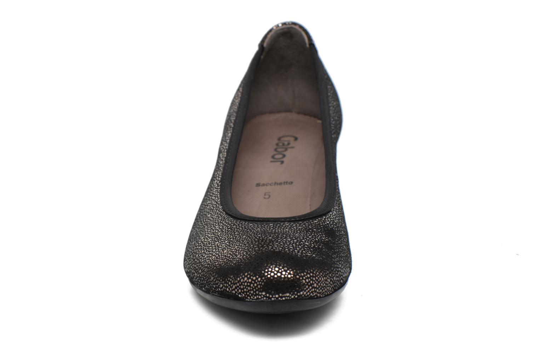 Ballerinas Gabor Stellana schwarz schuhe getragen