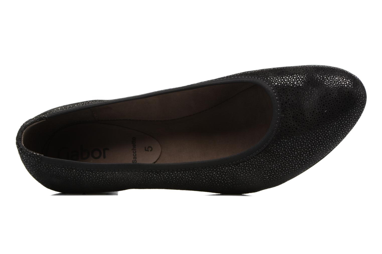 Zapatos de tacón Gabor Mila Negro vista lateral izquierda