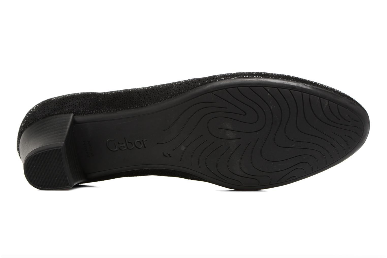 Zapatos de tacón Gabor Mila Negro vista de arriba