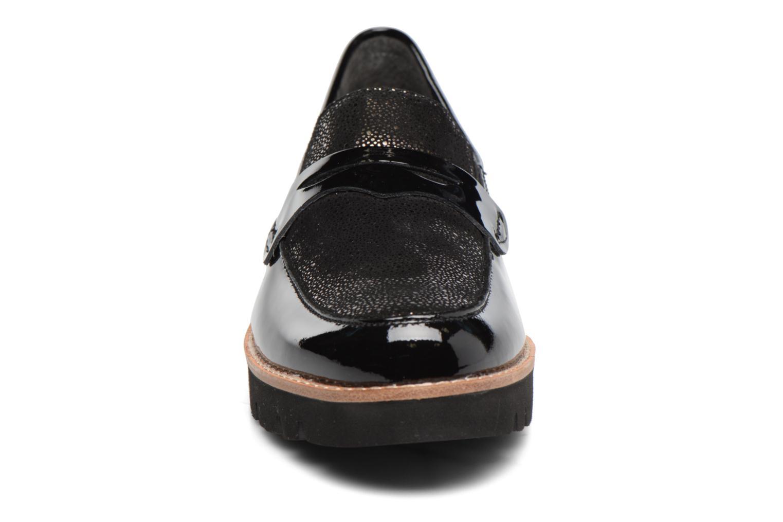 Mocassins Gabor Leoni Noir vue portées chaussures