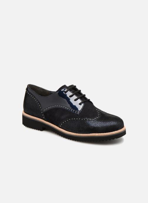Chaussures à lacets Gabor Sara Noir vue détail/paire