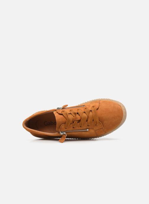 Sneakers Gabor Sara Giallo immagine sinistra