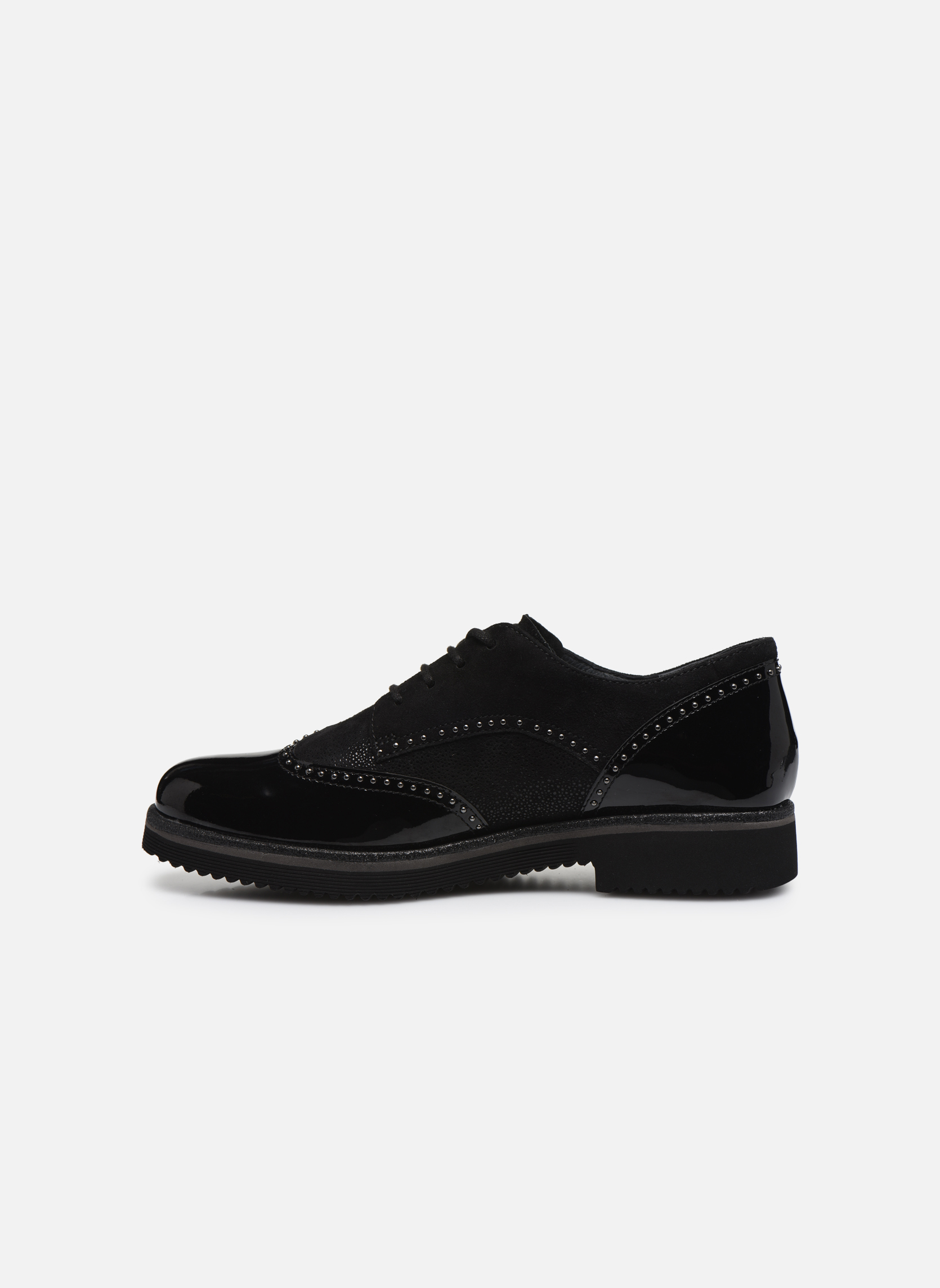 Chaussures à lacets Gabor Sara Noir vue face
