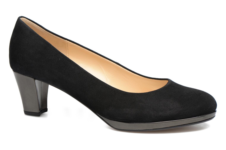 Høje hæle Gabor Jeanna Sort detaljeret billede af skoene