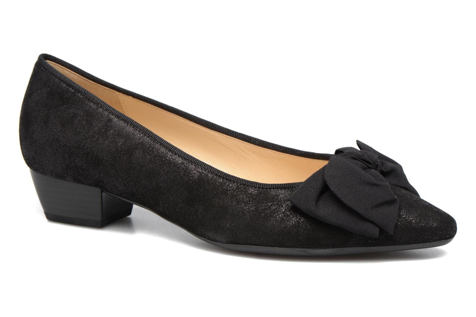Ballet pumps Gabor Mayana Black detailed view/ Pair view