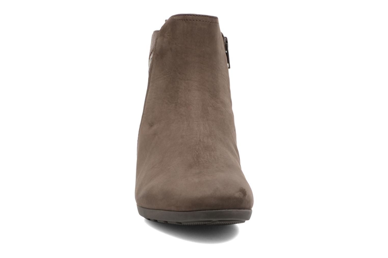 Bottines et boots Gabor Luisa Gris vue portées chaussures