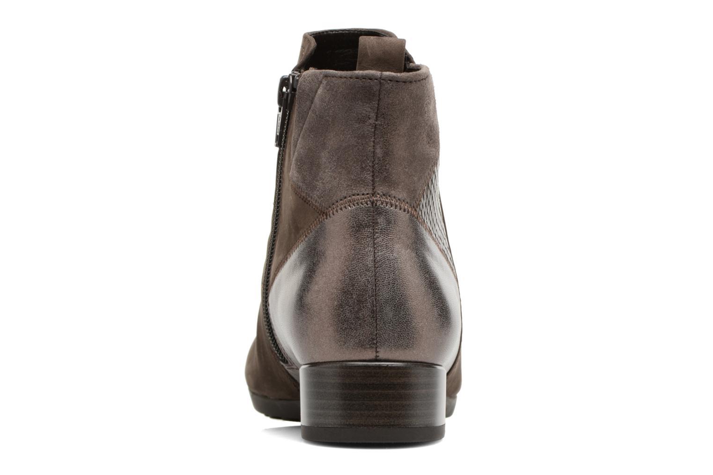 Bottines et boots Gabor Luisa Gris vue droite