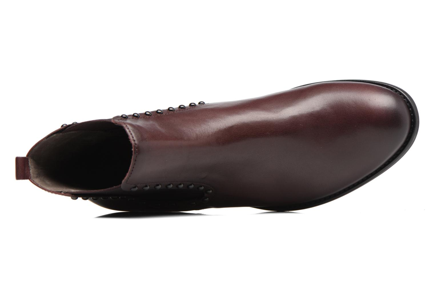 Ankle boots Gabor Angy Burgundy view from the left