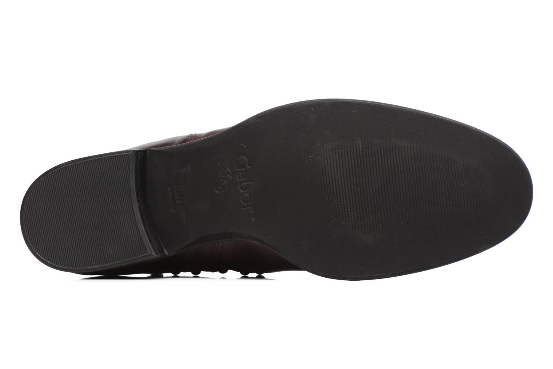 Boots en enkellaarsjes Gabor Angy Bordeaux boven