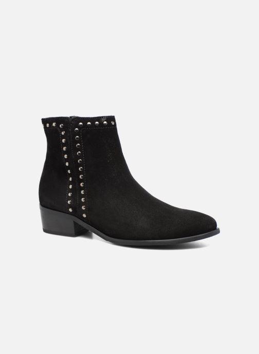 Boots en enkellaarsjes Gabor Josefine Zwart detail