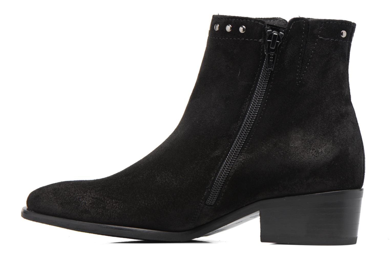 Bottines et boots Gabor Josefine Noir vue face