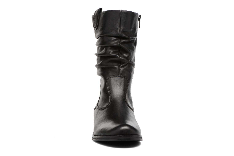 Bottes Gabor Kiara Noir vue portées chaussures