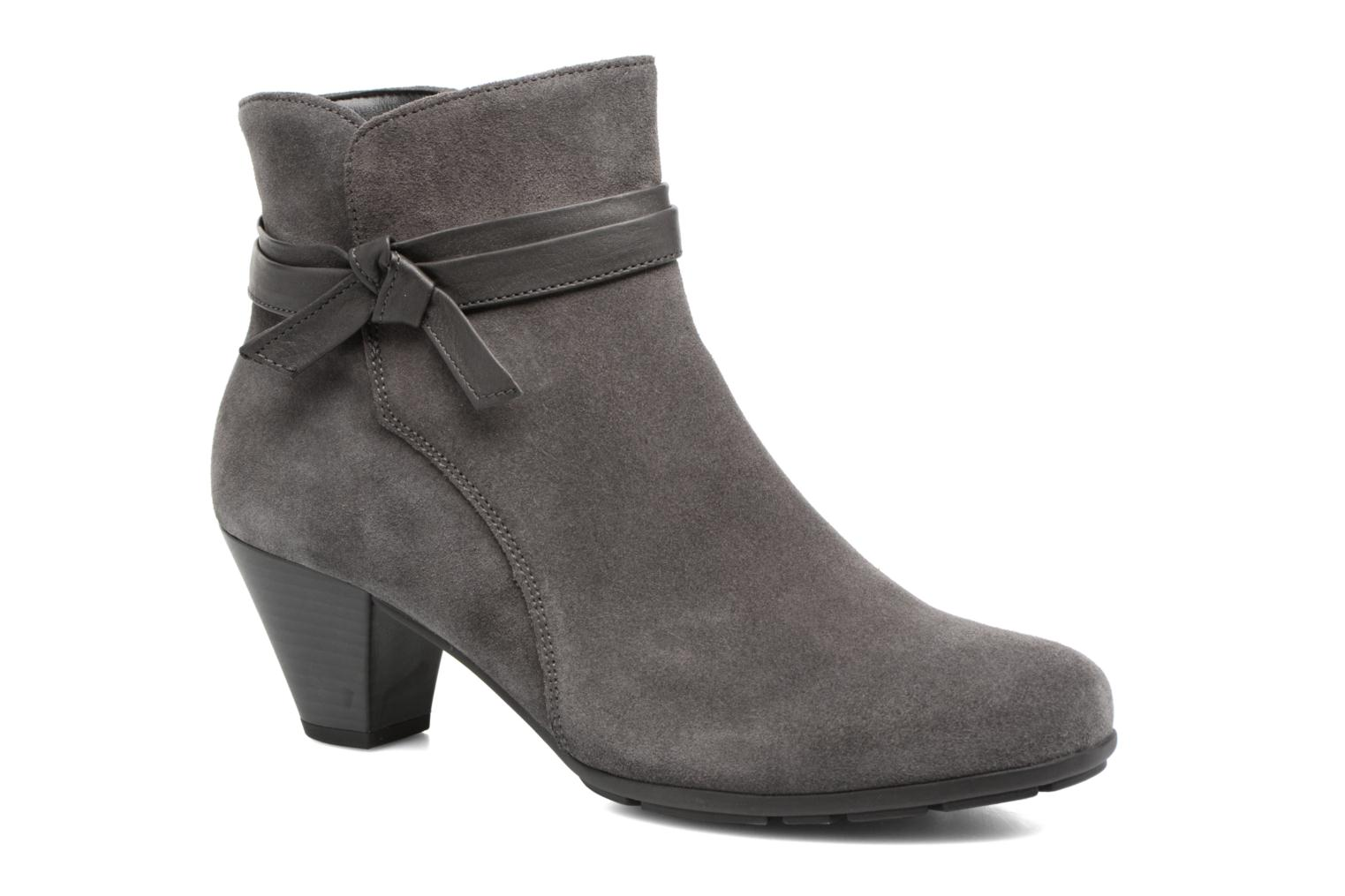 Ankle boots Gabor Anika Grey detailed view/ Pair view