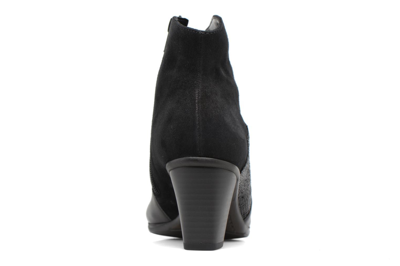 Bottines et boots Gabor Piana Noir vue droite