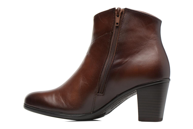 Bottines et boots Gabor Piana Marron vue face