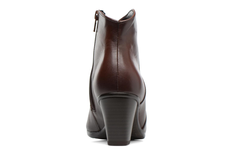 Bottines et boots Gabor Piana Marron vue droite