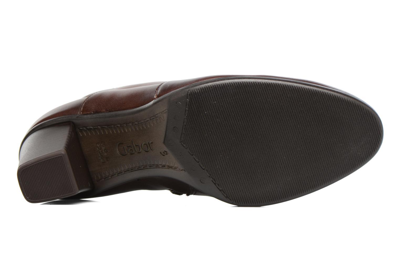 Bottines et boots Gabor Piana Marron vue haut