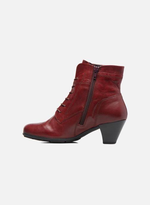 Bottines et boots Gabor Fiona Rouge vue face