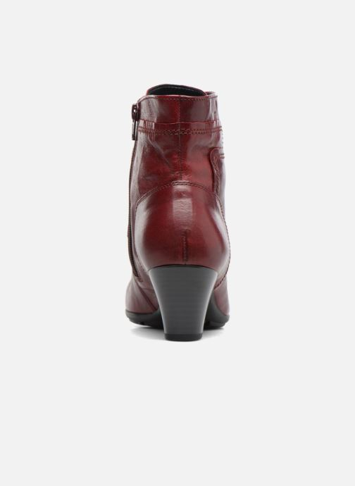 Ankle boots Gabor Fiona Red view from the right