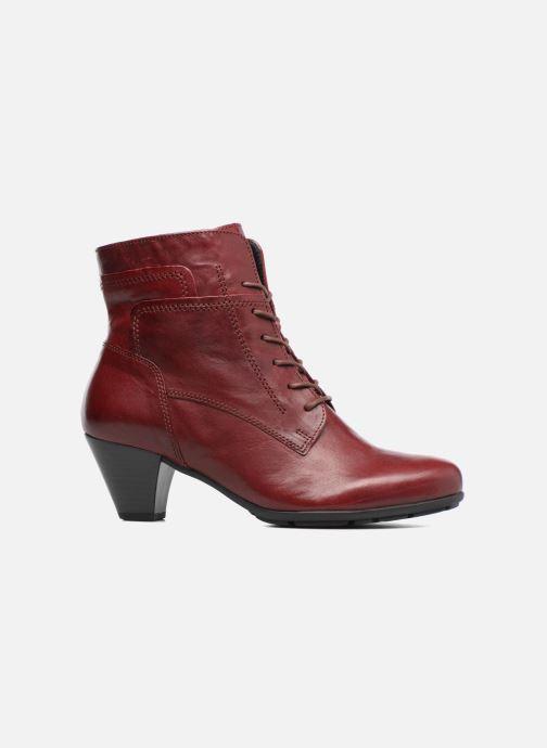 Bottines et boots Gabor Fiona Rouge vue derrière