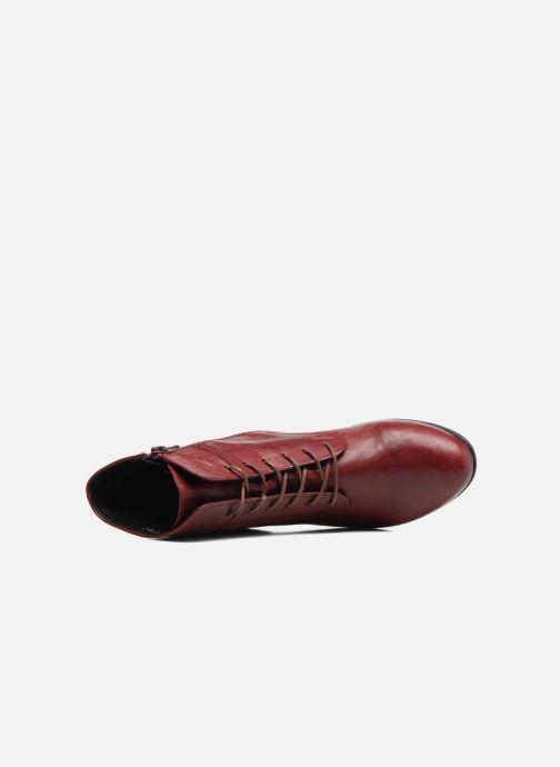 Stiefeletten & Boots Gabor Fiona rot ansicht von links
