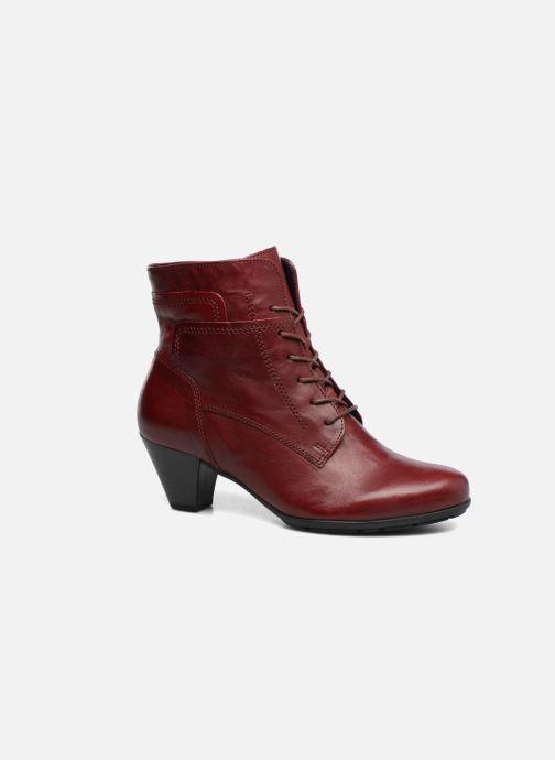 Bottines et boots Gabor Fiona Rouge vue détail/paire