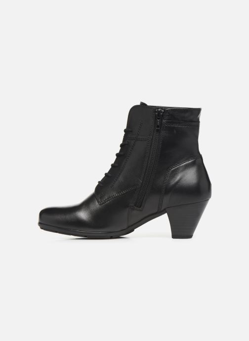 Bottines et boots Gabor Fiona Noir vue face