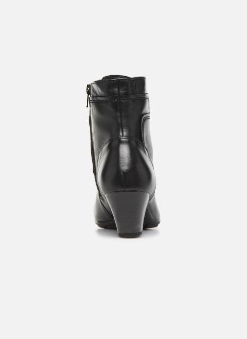 Bottines et boots Gabor Fiona Noir vue droite