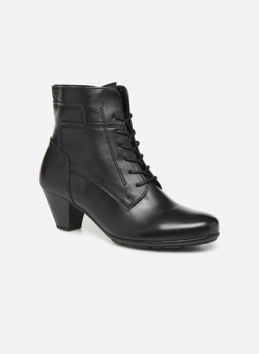 Bottines et boots Gabor Fiona Noir vue détail/paire