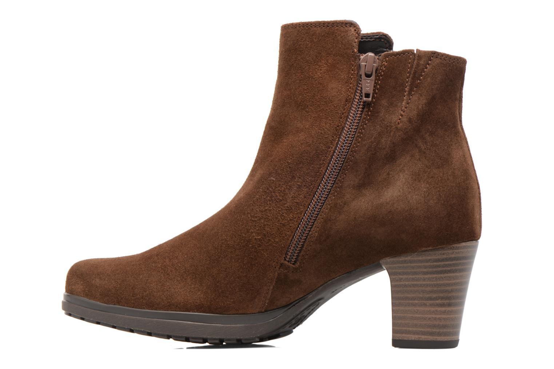 Stiefeletten & Boots Gabor Antonia braun ansicht von vorne