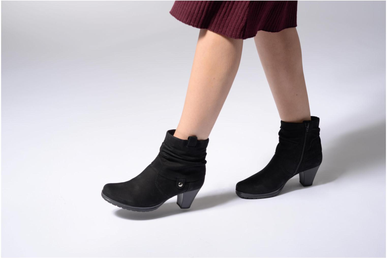 Bottines et boots Gabor Celina Noir vue bas / vue portée sac