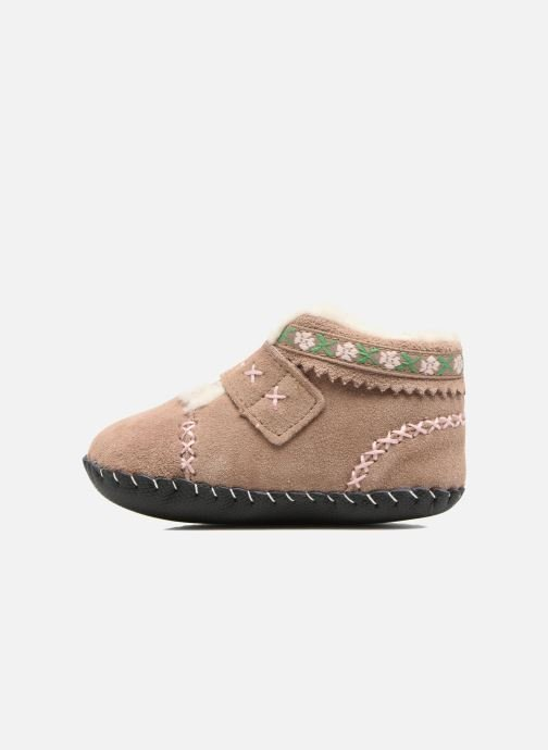 Chaussons Pediped Rosa Beige vue face