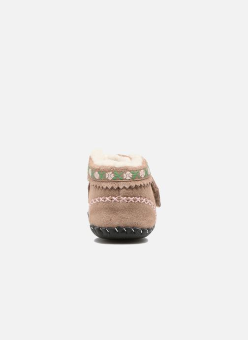 Chaussons Pediped Rosa Beige vue droite