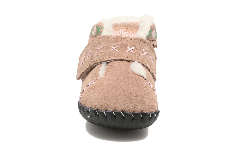 Hjemmesko Pediped Rosa Beige se skoene på