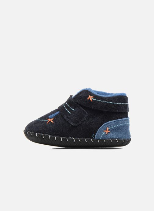 Slippers Pediped Ronnie Blue front view