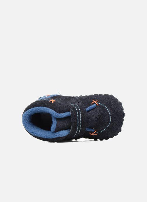 Pantoffels Pediped Ronnie Blauw links