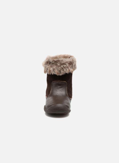 Bottes Pediped Mia Marron vue portées chaussures