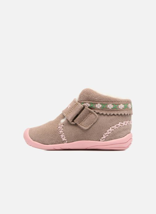 Ankle boots Pediped Rosa 2 Beige front view