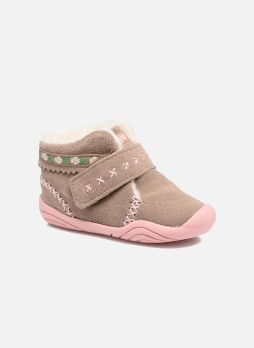 Ankle boots Pediped Rosa 2 Beige detailed view/ Pair view