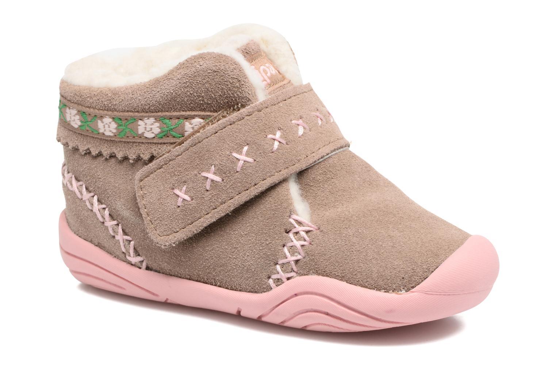 Bottines et boots Pediped Rosa 2 Beige vue détail/paire
