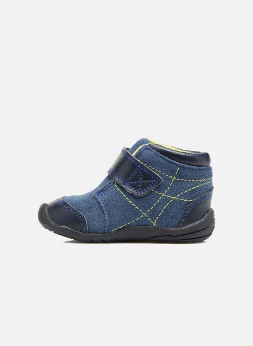 Bottines et boots Pediped Troy Bleu vue face