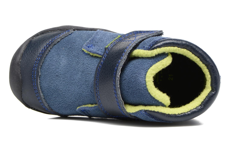 Bottines et boots Pediped Troy Bleu vue gauche