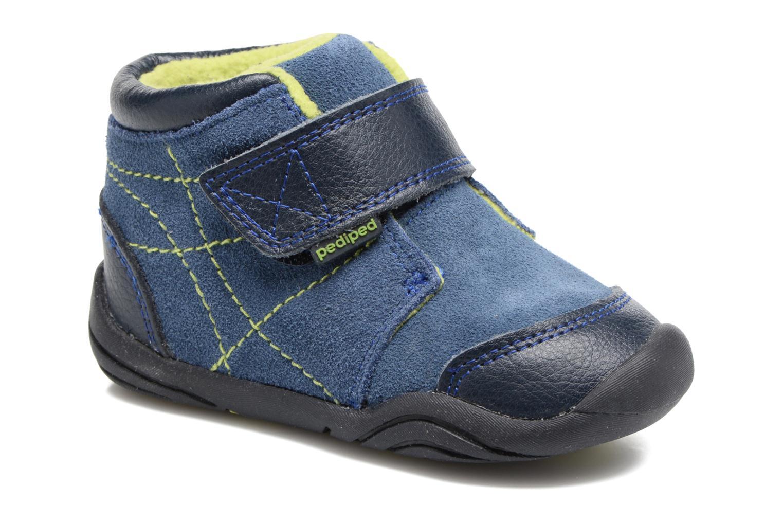 Bottines et boots Pediped Troy Bleu vue détail/paire