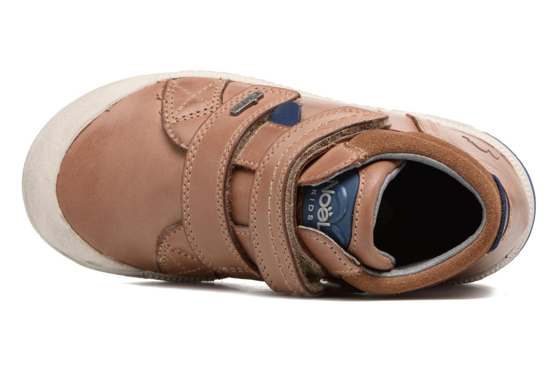 Sneakers Noël Yuan ST Marrone immagine sinistra