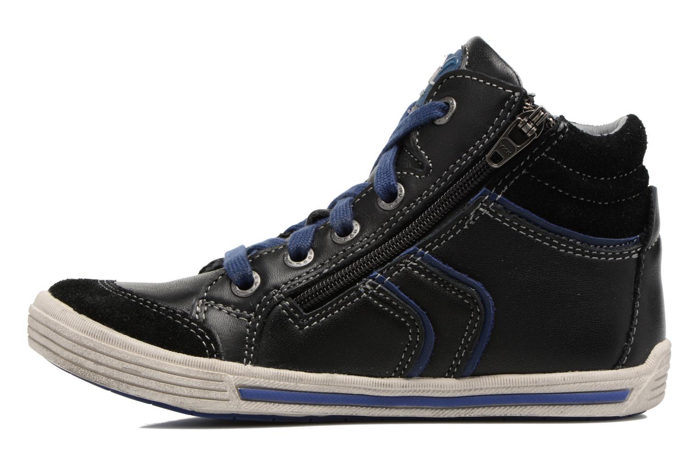Sneakers Noël Ruben Zwart voorkant