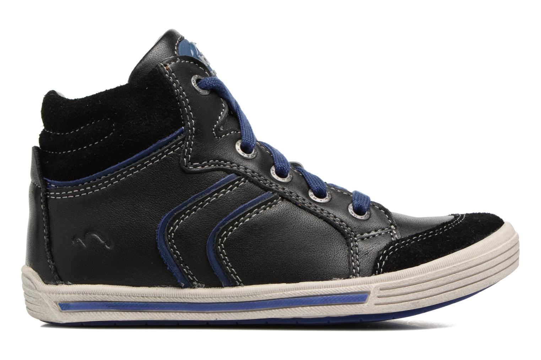 Sneakers Noël Ruben Zwart achterkant